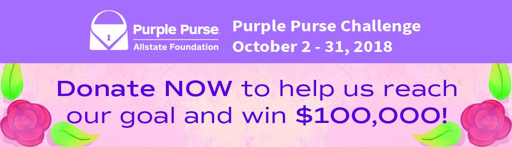 SLIDER: Purple Purse